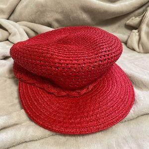 Eric Javitz Red Capitan Hat - BRAND NEW